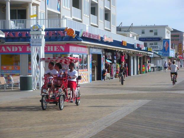 Year Round Boardwalk Bikes Rides