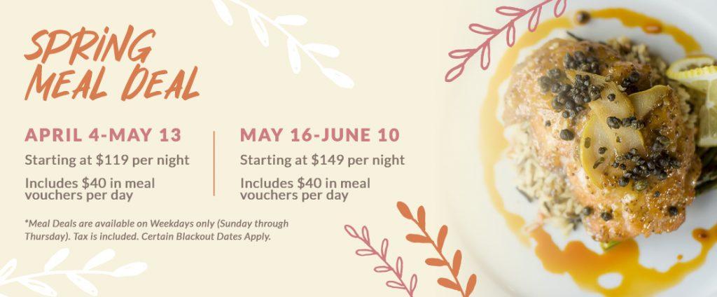 Howard Johnson Oceanfront Plaza Spring Meal Deal